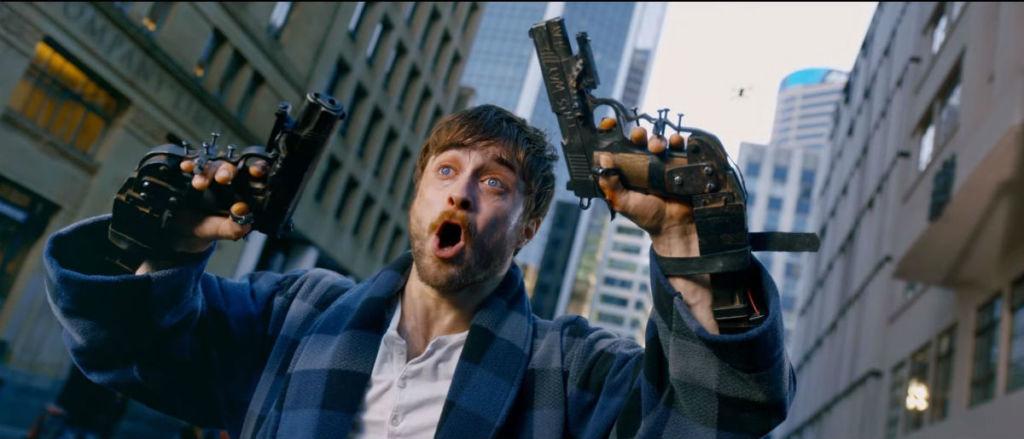 guns akimbo daniel radcliffe film
