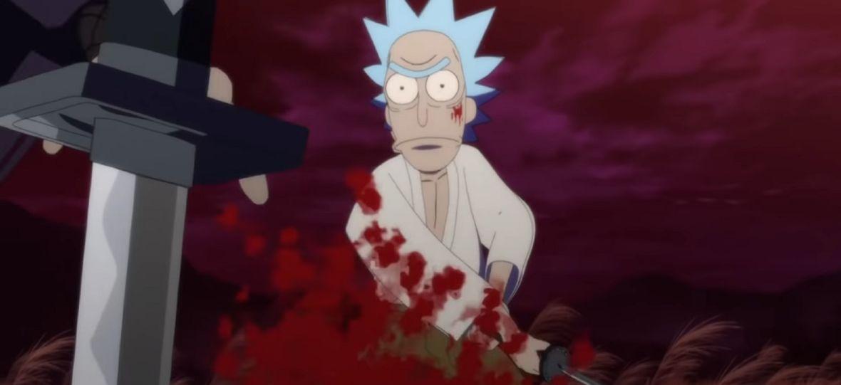 """""""Rick i Morty"""" stylizowani na brutalne anime w świecie ninja i samurajów. Animacja """"Samurai & Shogun"""" bije rekordy wyświetleń"""