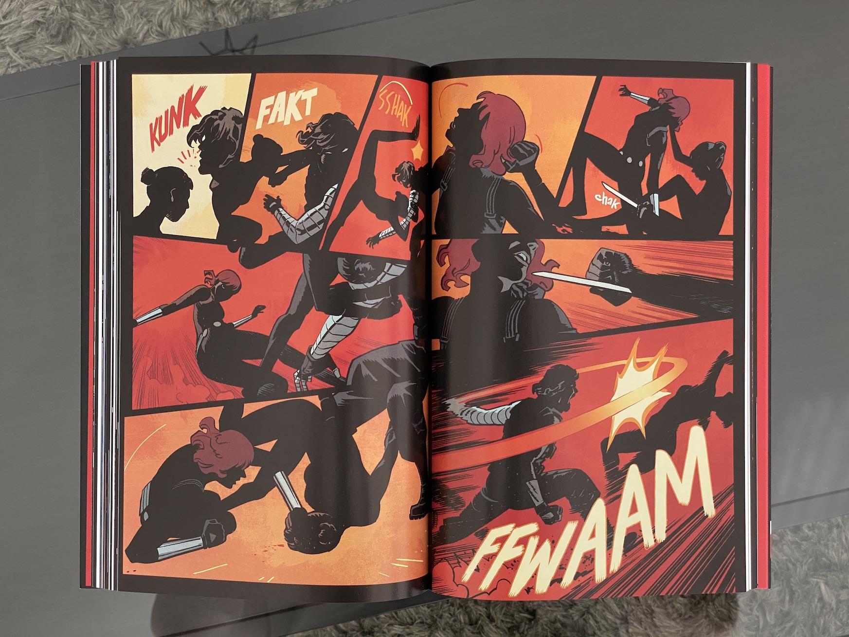 czarna wdowa komiks egmont 2020 recenzja black widow marvel