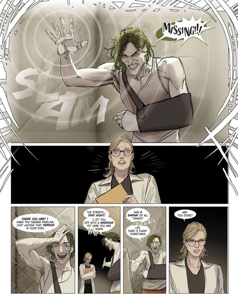 harley quinn komiks