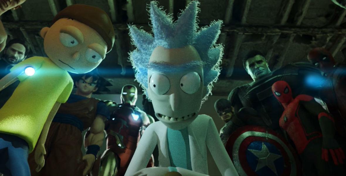 Największy crossover wszech czasów! Spider-Man, Superman, Goku, John Wick oraz… Rick i Morty stają do walki z koronawirusem