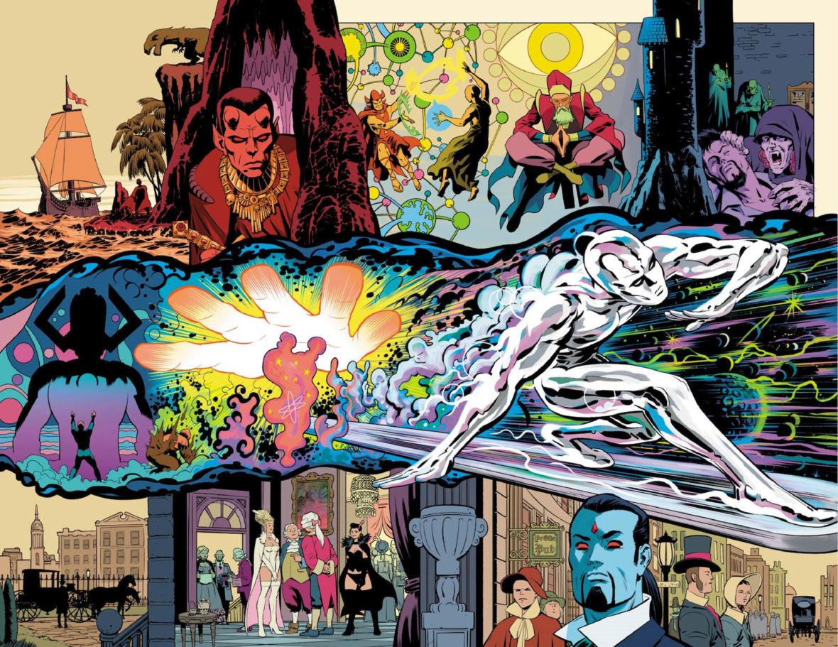 """History of the Marvel Universe"" i komiksy z cyklu ""Grand Design"" to taka ilustrowana Wikipedia"
