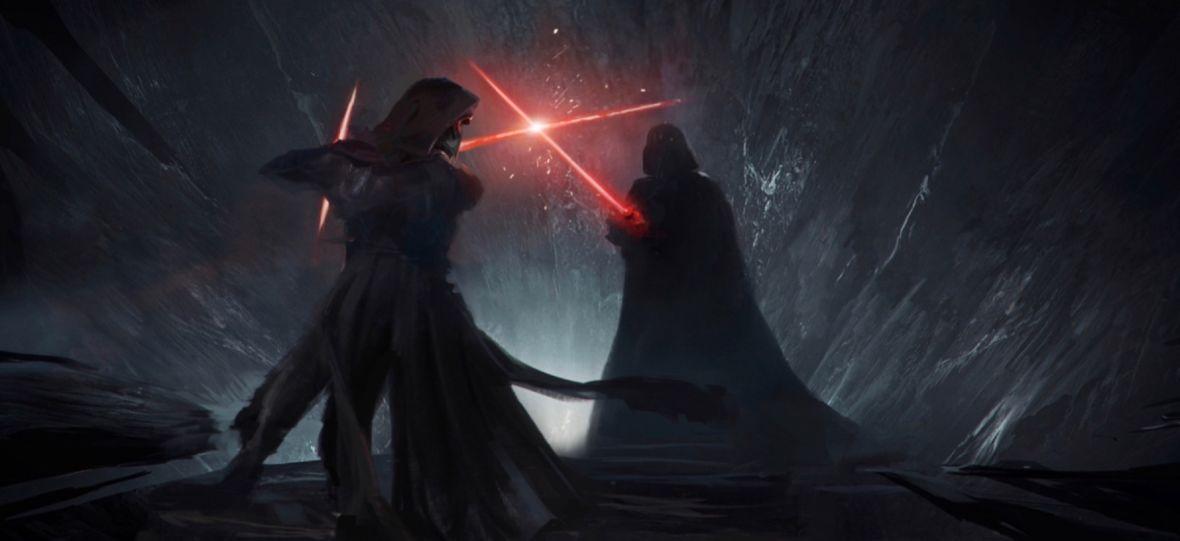 """Fani """"Star Wars"""" stworzyli animację na podstawie odrzuconego scenariusza Epizodu IX, """"Duel of the Fates"""""""