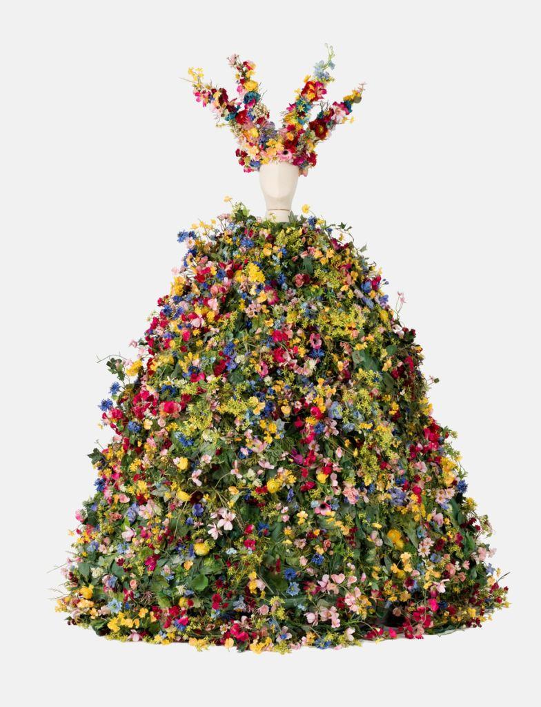 suknia z kwiatow midsommar