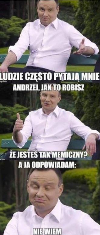 Nie śmiejcie się z tego, jak Andrzej Duda rapuje, bo to ...