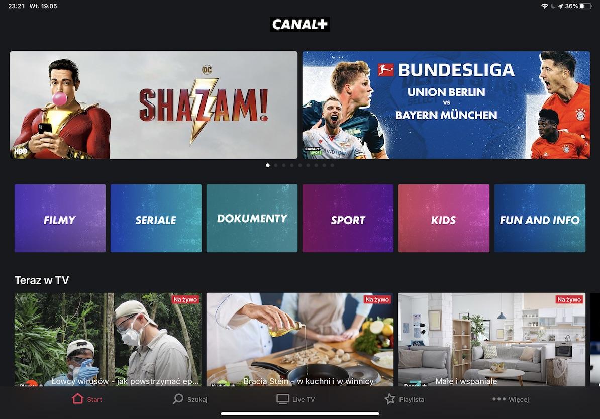 canal plus iOS iPad iPhone App Store screenshot 1