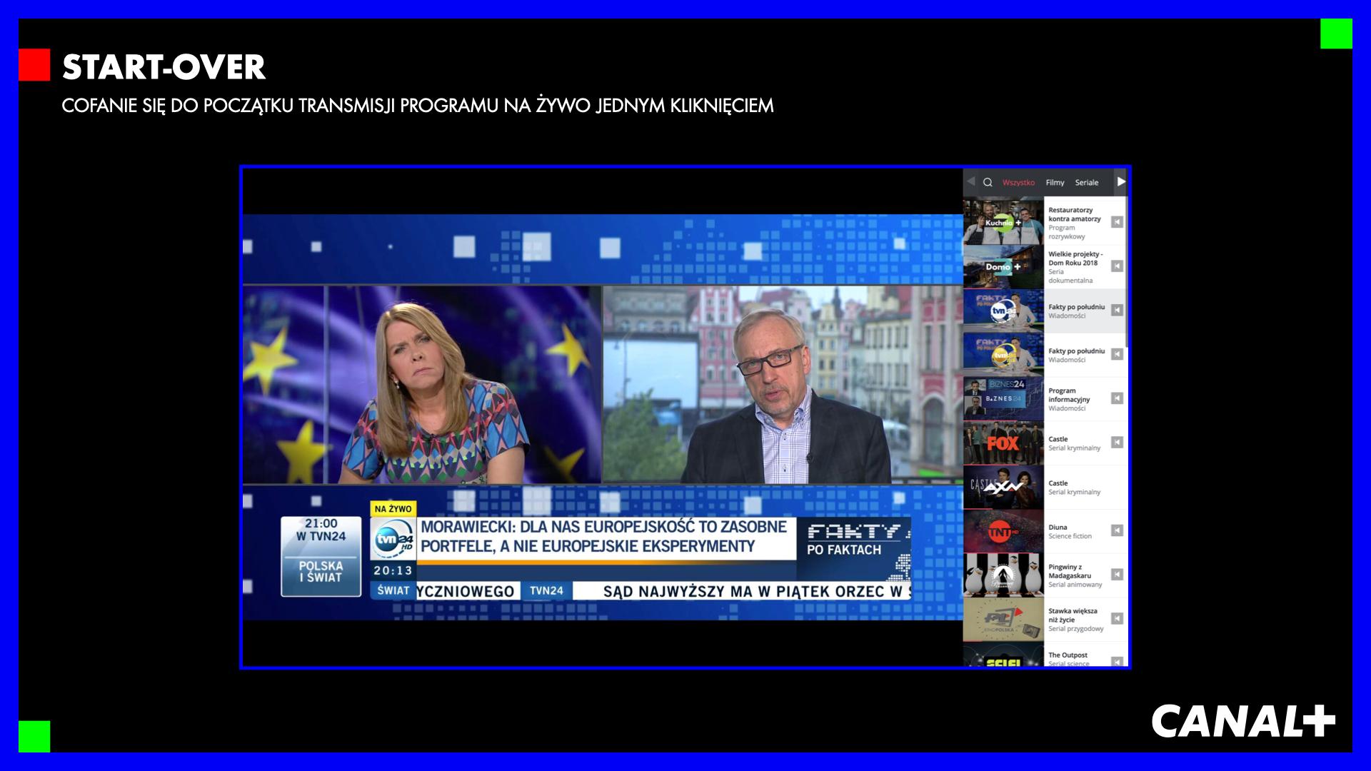 canal plus telewizja przez internet 9 STARTOVER