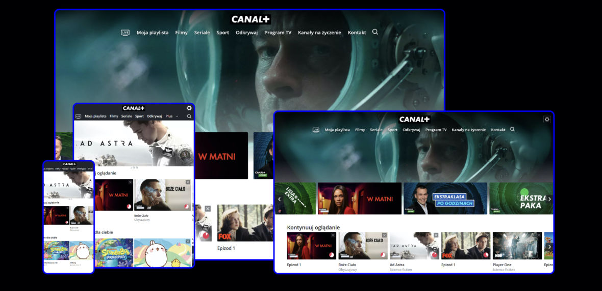 Telewizja przez internet od Canal+ już oficjalnie — oto wszystko, co musisz wiedzieć o nowym serwisie VOD