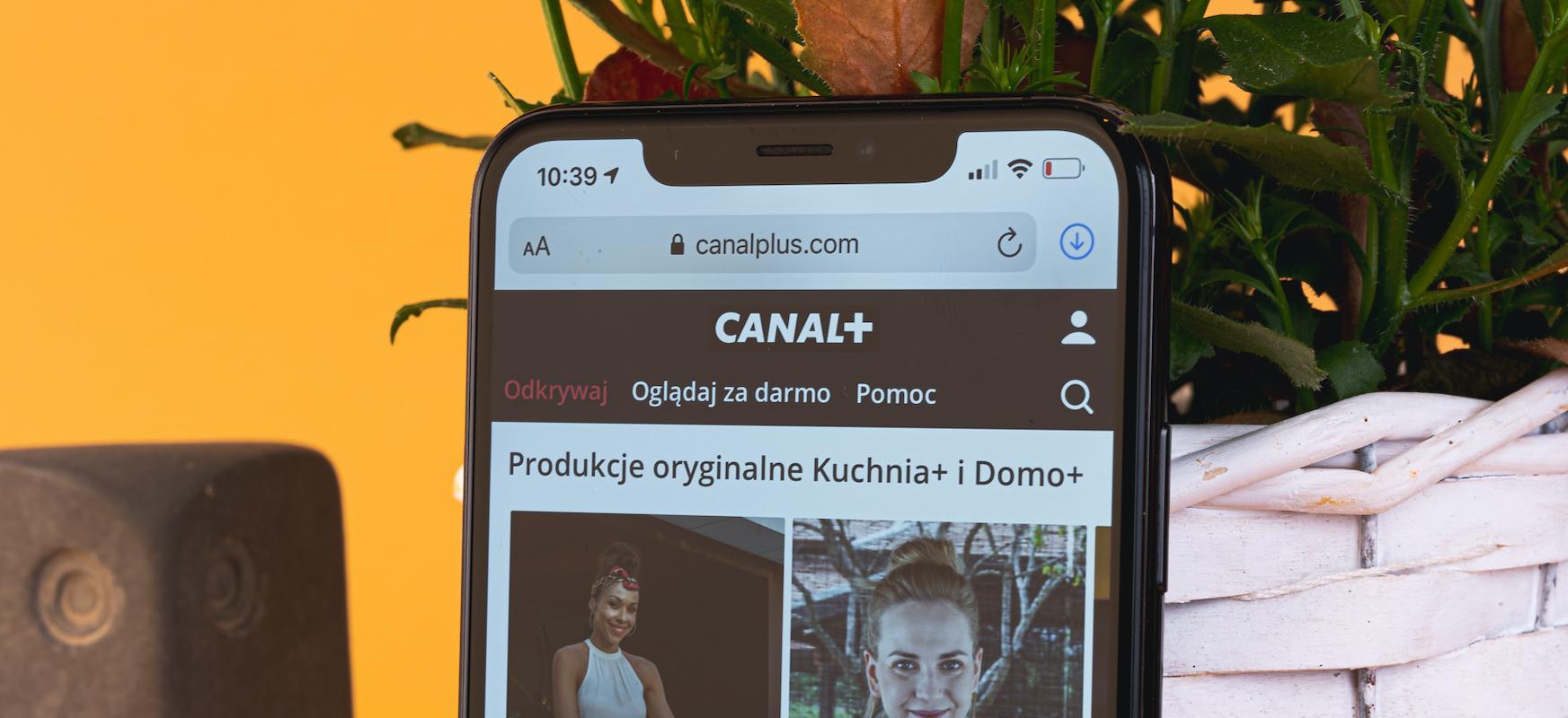 canal-plus vod przez internet
