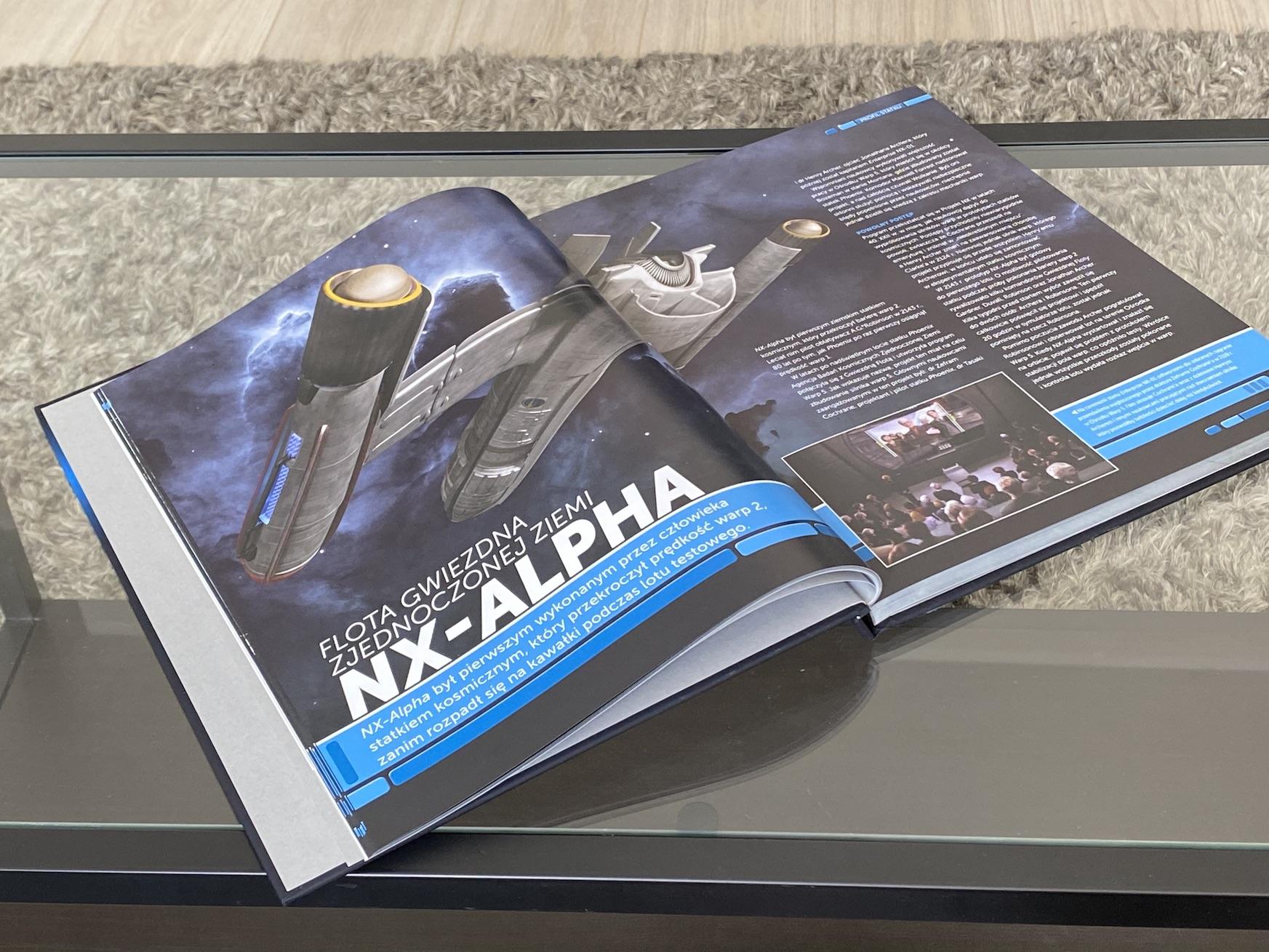 encyklopedia statków star trek statki gwiezdnej floty 2151-2293 recenzja