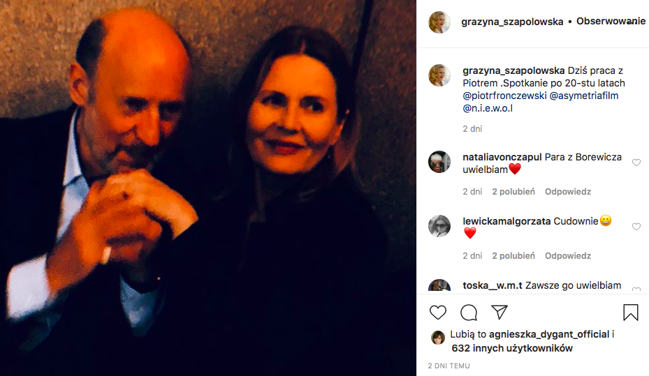szapolowska fronczewski instagram