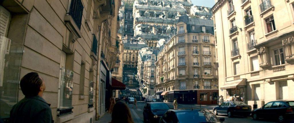 inception ulice paryza