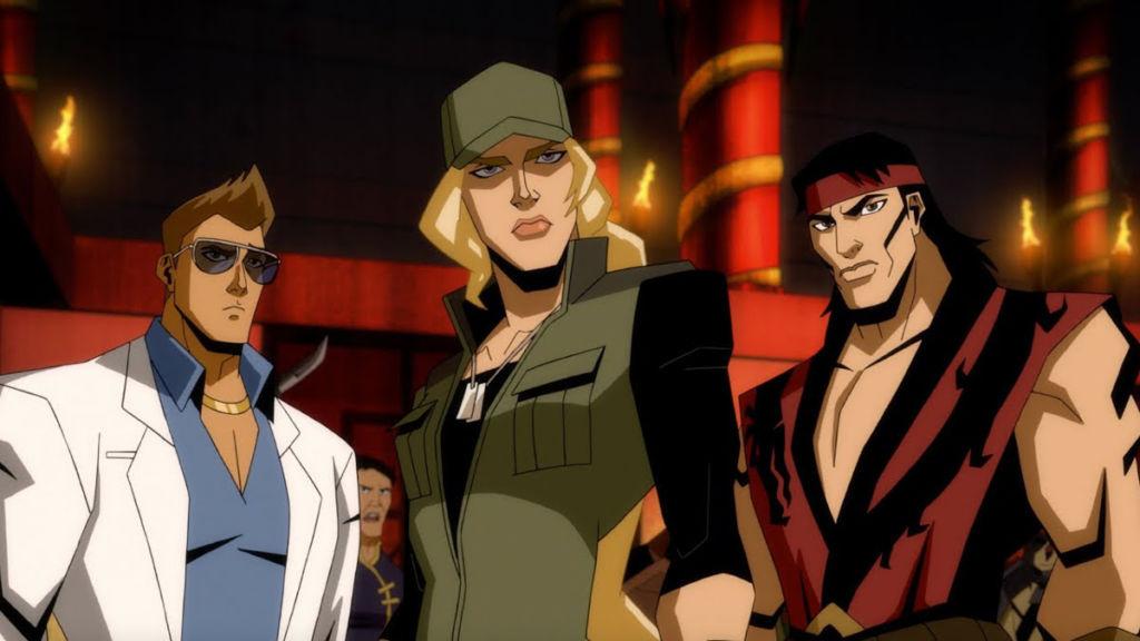 Mortal Kombat Legends Scorpions Revenge sonya liu kang johnny cage