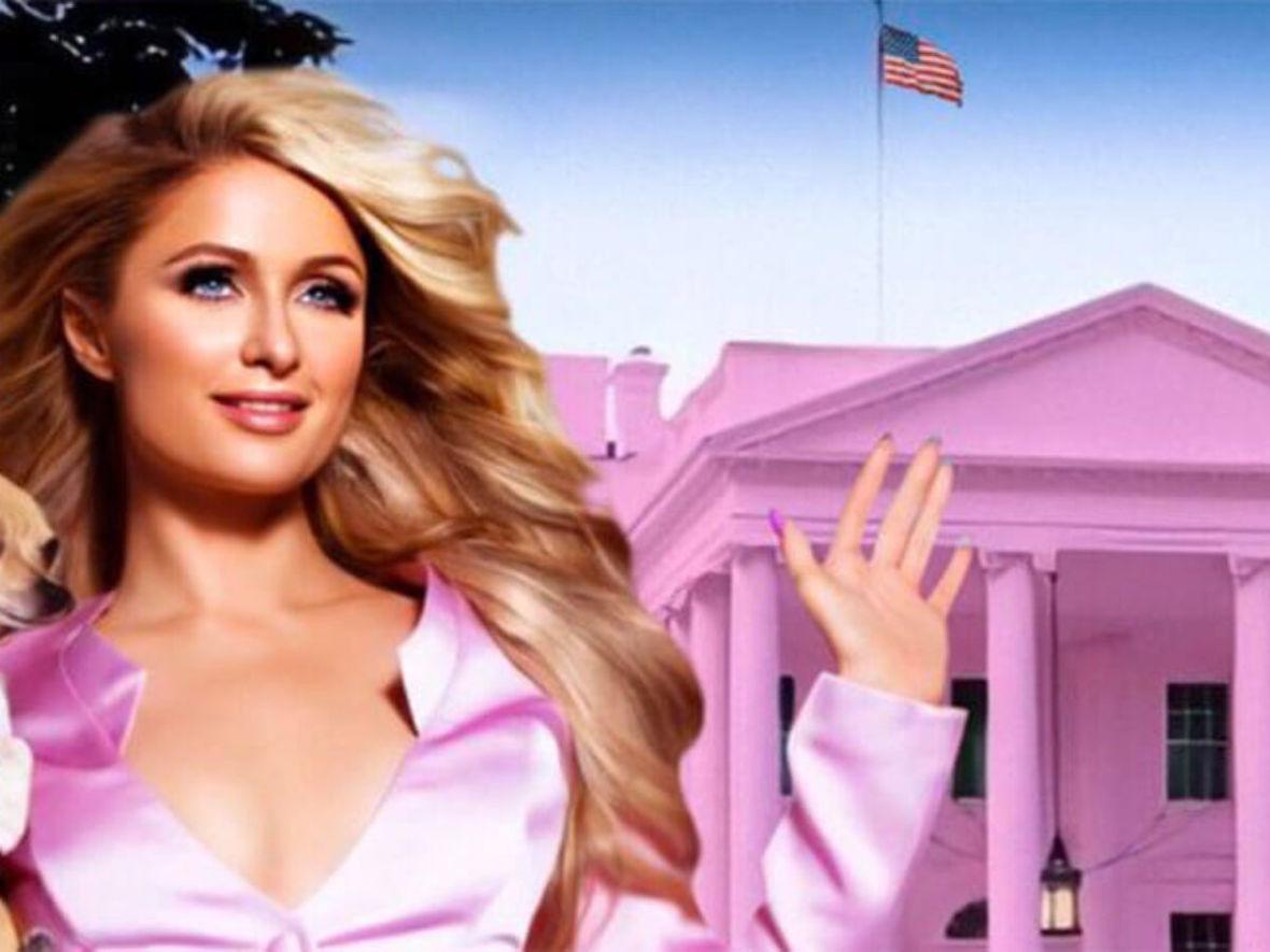Paris Hilton chce kandydować na urząd prezydenta USA
