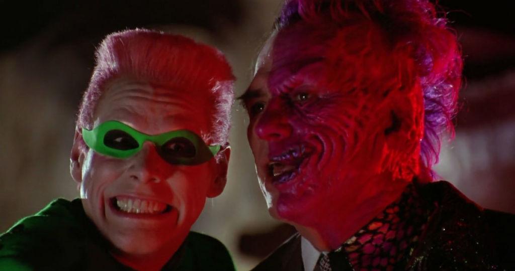The Riddler Two Face batman forever