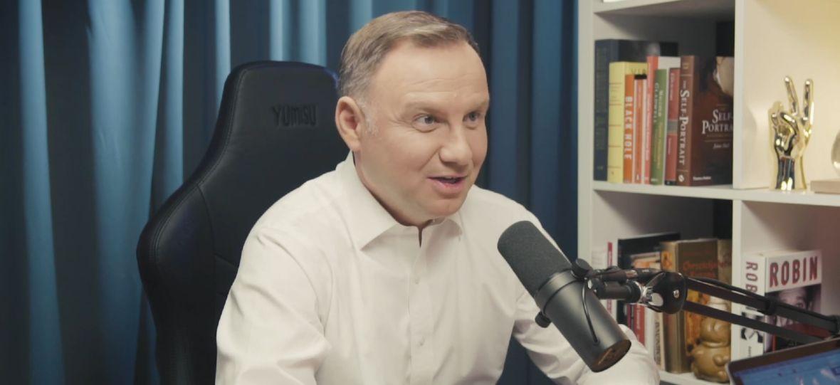 Andrzej Duda wystąpił u Karola Paciorka. Godzinny wywiad z prezydentem RP już na platformie YouTube