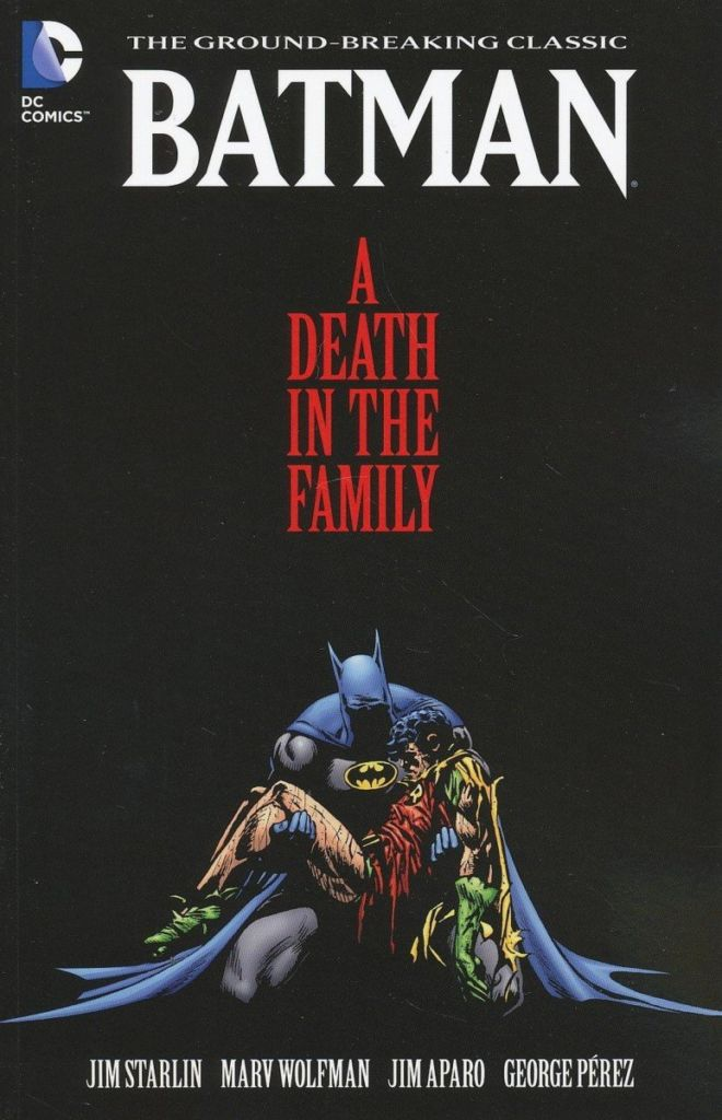 batman a death in the family cover