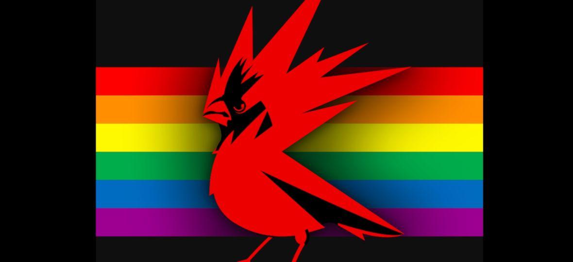 Wróciło stare logo CD Projekt RED. W komentarzach roi się od żartów z firmy i oburzonych na LGBT