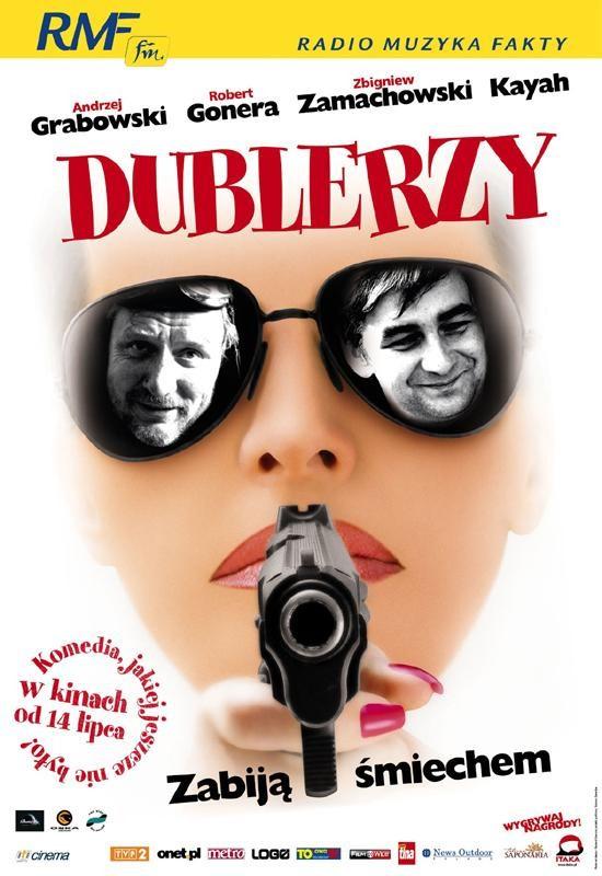 Plakat do filmu Dublerzy