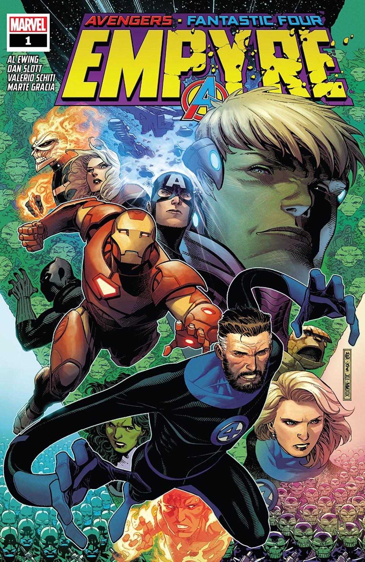 """Kto jest kim w """"Empyre""""? Prześwietlamy najnowszy crossover Marvela"""