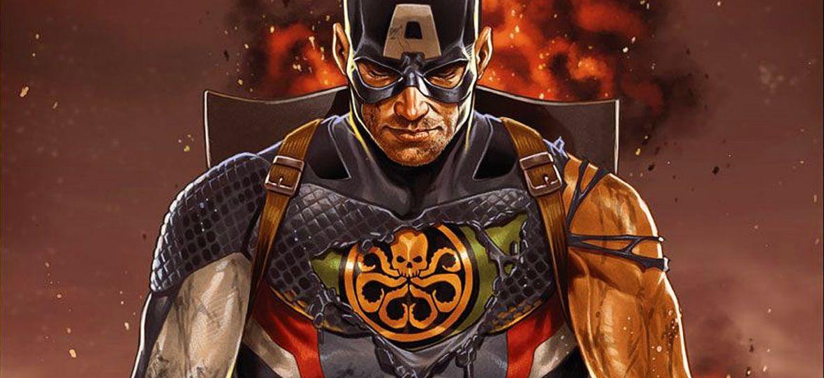"""Dlaczego Kapitan Ameryka został faszystą? Sprawdziliśmy, czy fani słusznie znienawidzili """"Tajne Imperium"""""""
