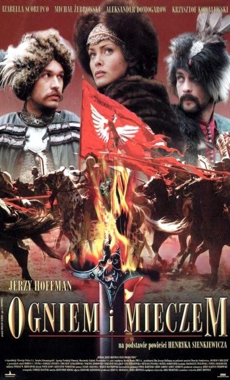 Plakat promujący film Ogniem i mieczem