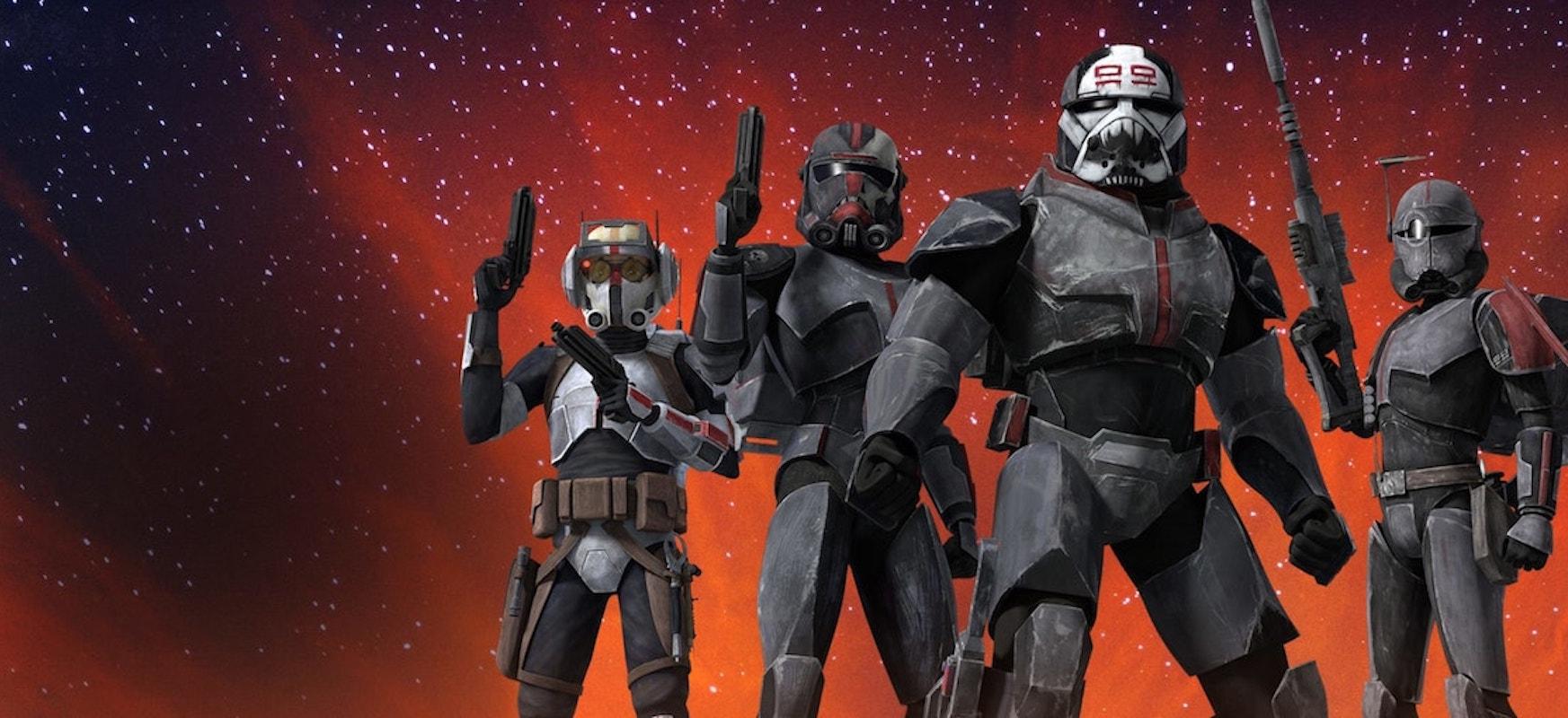 star wars bad batch wojny klonow spin-off the clone wars gwiezdne wojny