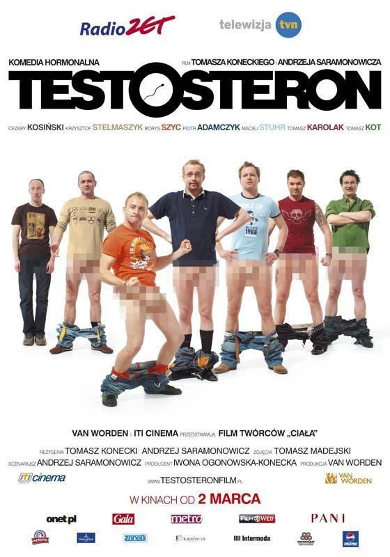 Plakat do filmu Testosteron
