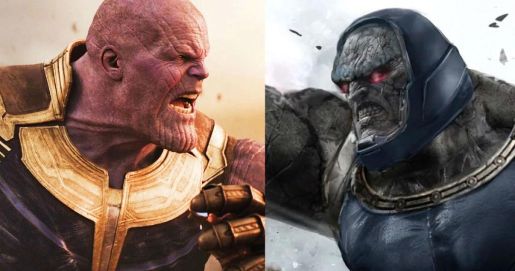 Po lewej Thanos, a po prawej Darkseid - znajdź różnice