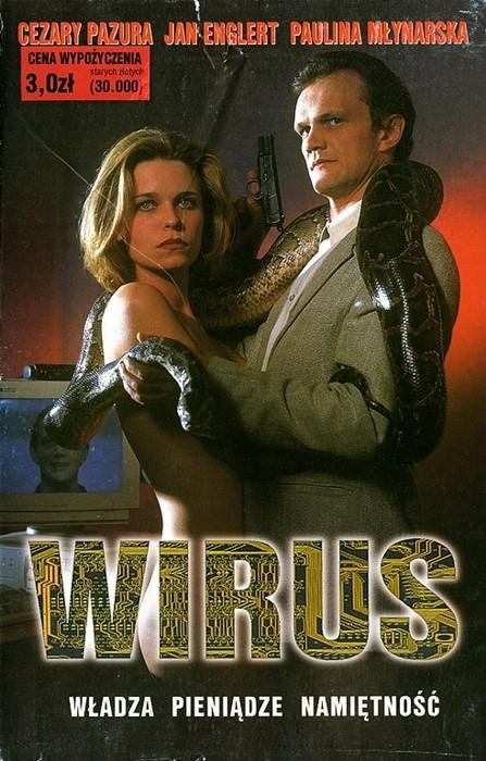Plakat z filmu Wirus
