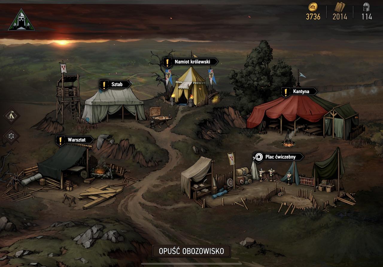 wojna krwi wiedzminskie opowiesci iphone ios recenzja ipados ipad thronebreaker the witcher tales
