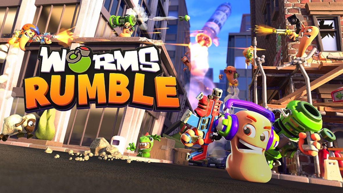 Worms Rumble to nie robaki, których szukacie. Nowa odsłona serii to battle royale