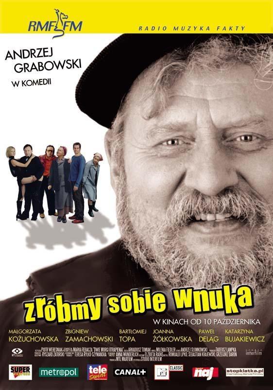 Plakat z filmu Zróbmy sobie wnuka