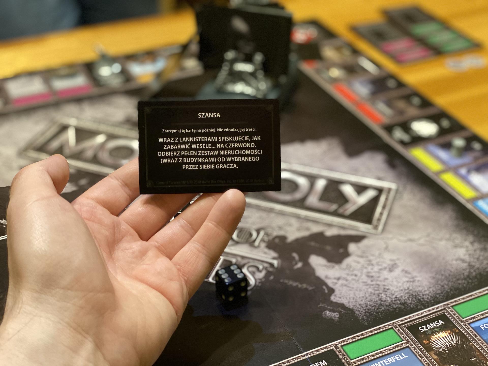 monopoly gra o tron planszowka game of thrones