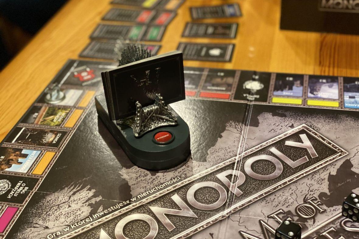 """Co powstanie z połączenia """"Monopoly"""" i """"Gry o tron""""? Prawdziwy test przyjaźni"""