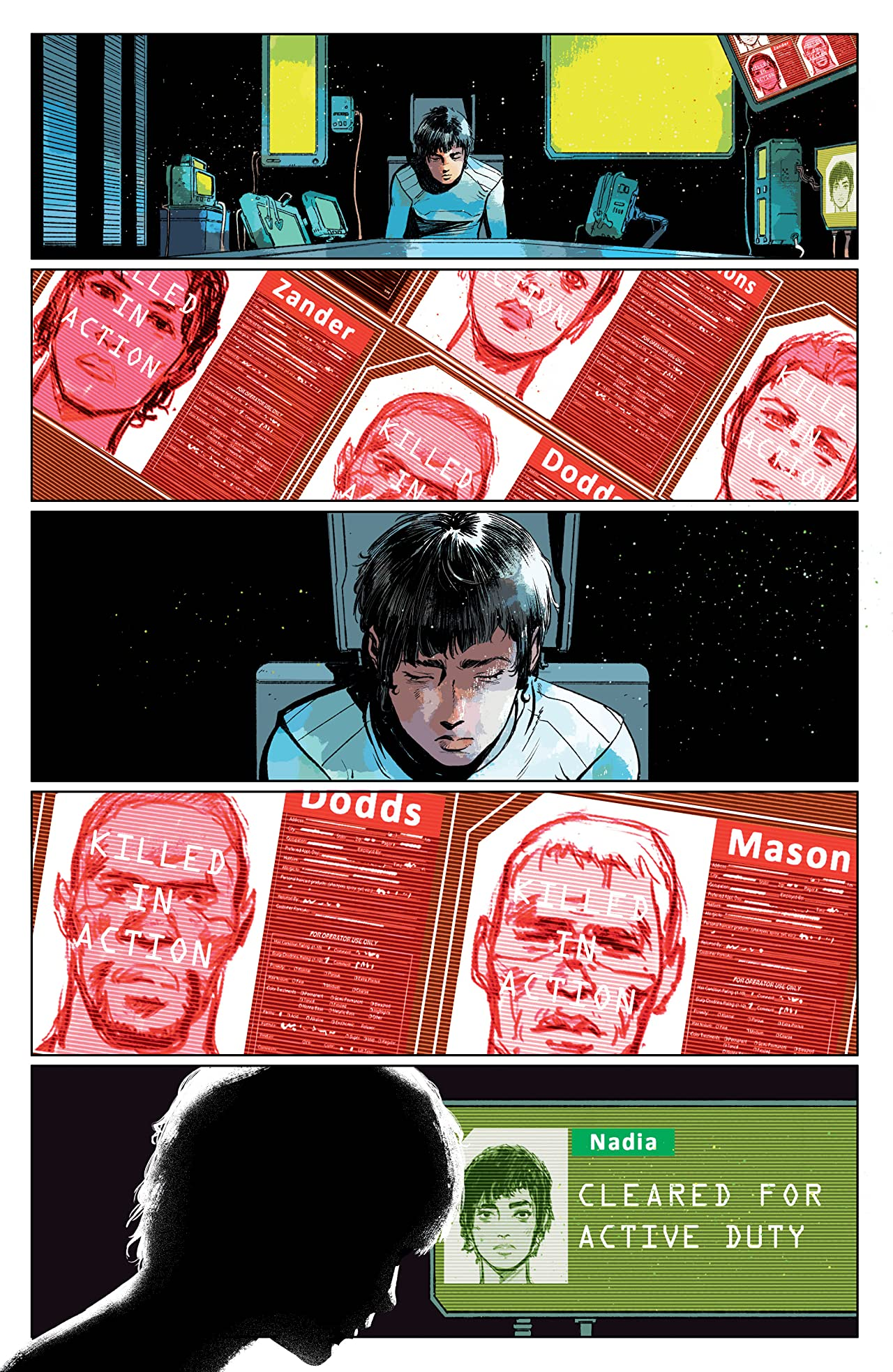 cyberpunk 2077 trauma team komiks recenzja dark horse