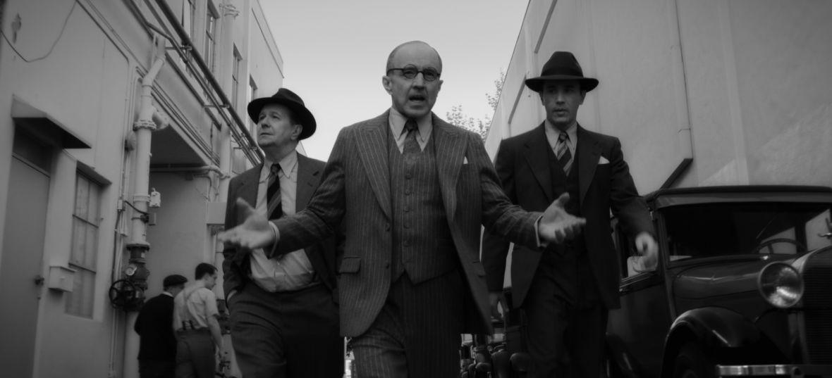 """Gary Oldman jako scenarzysta """"Obywatela Kane'a"""". Netflix pokazał kadry z filmu """"Mank"""" Davida Finchera"""