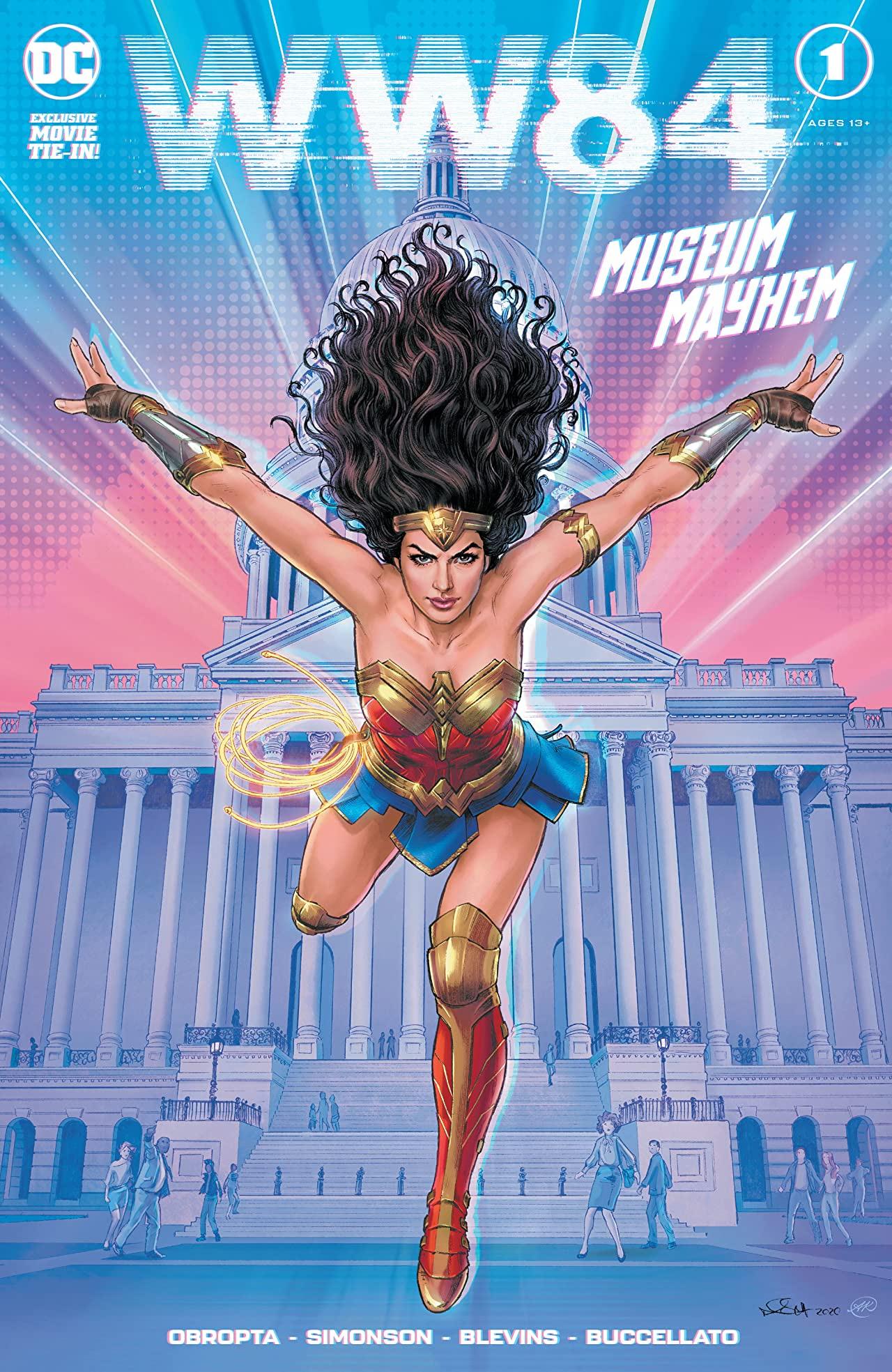 wonder woman 1984 komiks recenzja