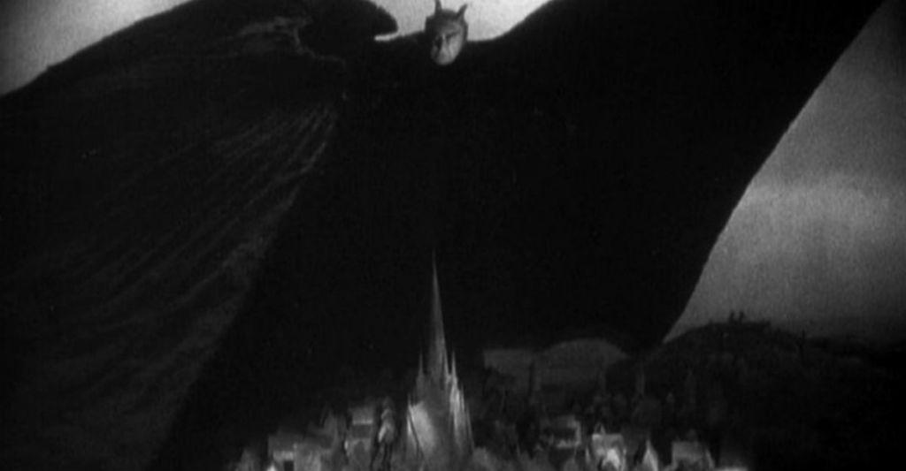 Faust 1926 mefisto nad miastem