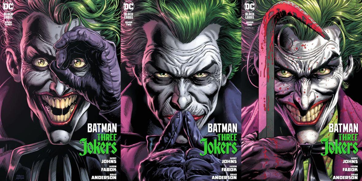 O co chodzi z tytułowymi Trzema Jokerami? Recenzujemy komiks o najsłynniejszym łotrze DC