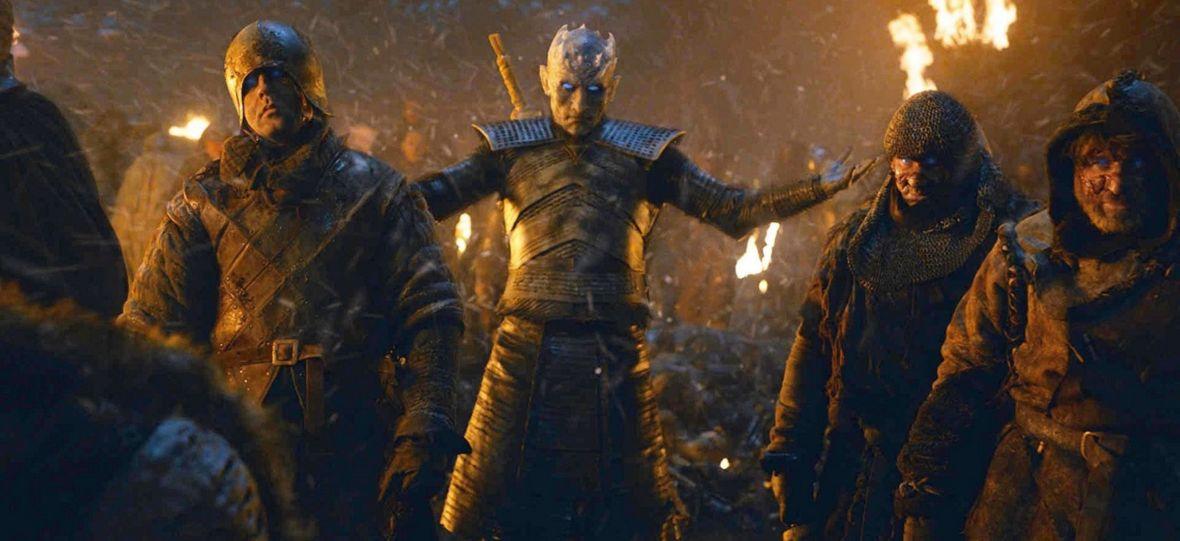 Bitwa o Winterfell jak amerykańskie wybory? Aktor grający Nocnego Króla bezlitośnie zakpił z Donalda Trumpa