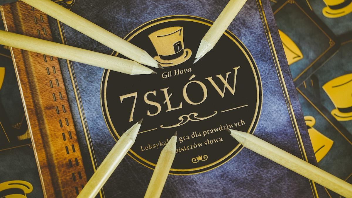 7 slow planszowka na swieta 2020 foksal