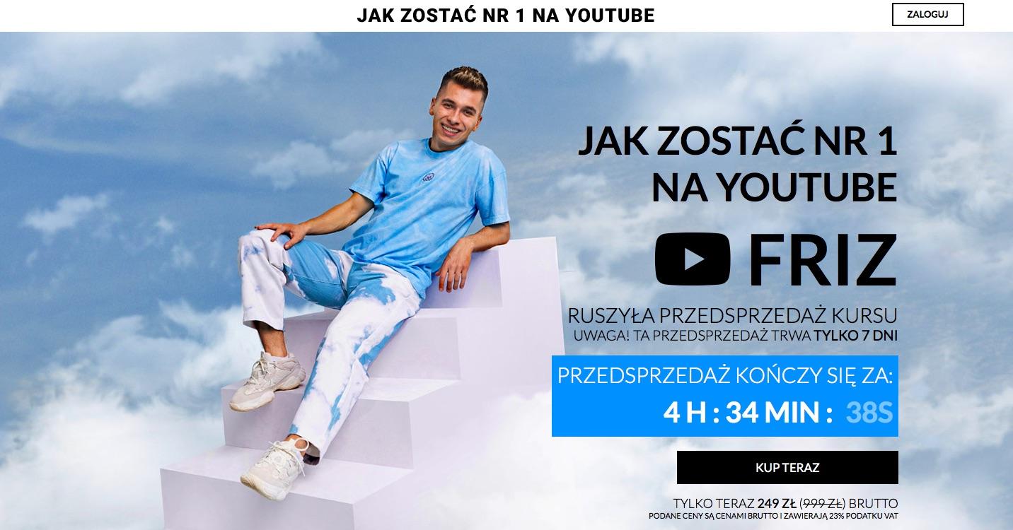 friz youtube kurs szkolenie