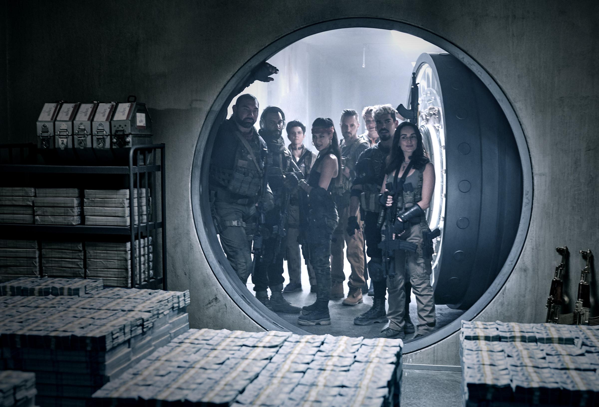 armia umarłych netflix filmy