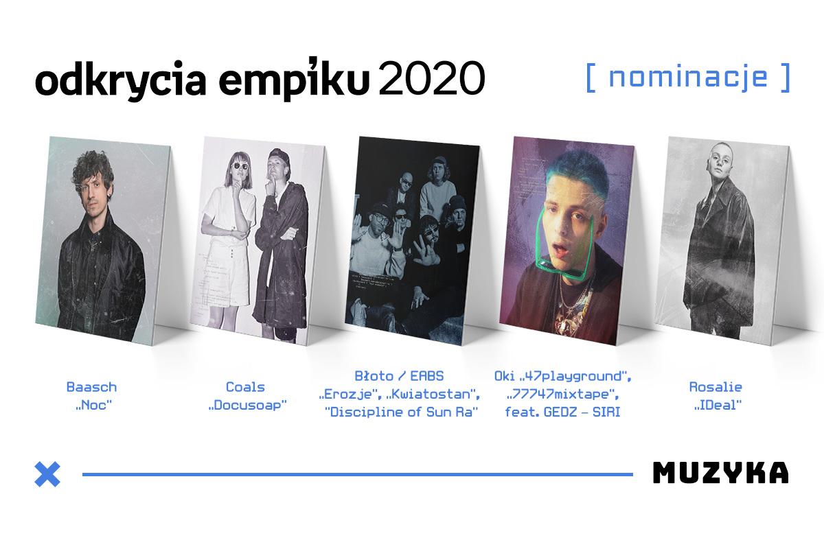 muzyczne odkrycie empiku 2020