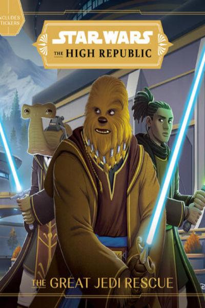 Okładka książki Star Wars Great Jedi rescue
