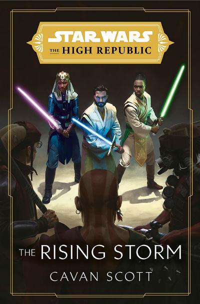 Okładka książki Star Wars The Rising Storm