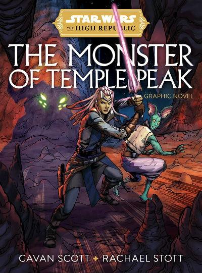 Okładka książki star wars The monster of temple peak