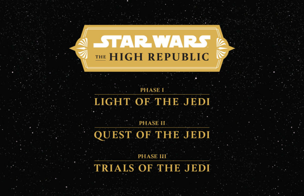 star wars the high republic Phases