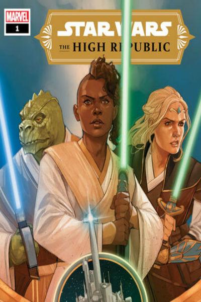 Okładka komiksu star wars the high republic